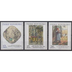 Czech (Republic) - 2001 - Nb 290/292 - Paintings