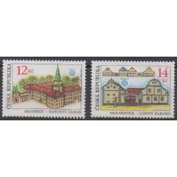 Tchèque (République) - 2001 - No 285/286 - Monuments