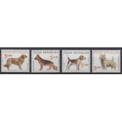 Czech (Republic) - 2001 - Nb 277/280 - Dogs