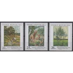 Czech (Republic) - 2005 - Nb 412/414 - Paintings