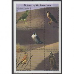 Turkmenistan - 1999 - Nb 124/128 - Birds