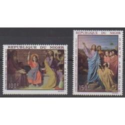 Niger - 1967 - No PA76/PA77 - Peinture - Religion