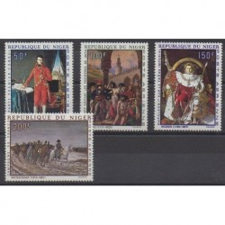 Niger - 1969 - Nb PA100/PA103 - Paintings - Napoleon