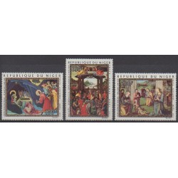 Niger - 1971 - Nb PA170/PA172 - Paintings - Christmas
