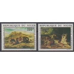 Niger - 1973 - Nb PA215/PA216 - Paintings