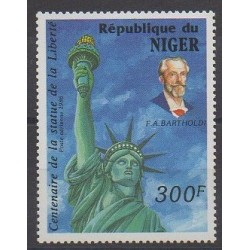 Niger - 1986 - Nb PA353 - Monuments