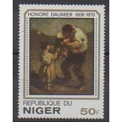 Niger - 1979 - Nb 467 - Paintings