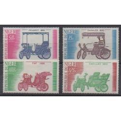 Niger - 1975 - Nb 328/331 - Cars - Mint hinged