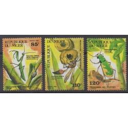 Niger - 1987 - No 725/727 - Insectes
