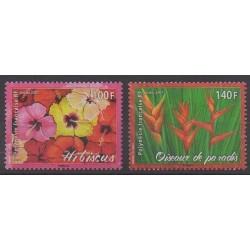 Polynesia - 2007 - Nb 821/822 - Flowers