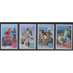 Bahamas - 2012 - Nb 1446/1449 - Summer Olympics