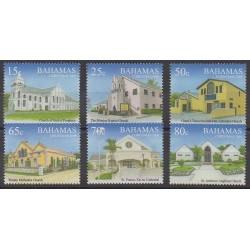 Bahamas - 2009 - 1372/1377 - Christmas - Churches