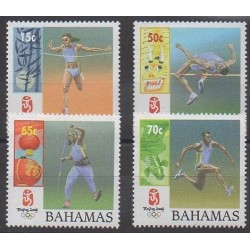 Bahamas - 2008 - Nb 1308/1311 - Summer Olympics