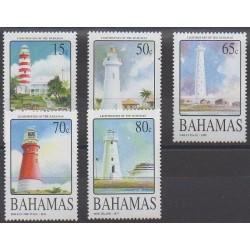 Bahamas - 2004 - Nb 1173/1177 - Lighthouses