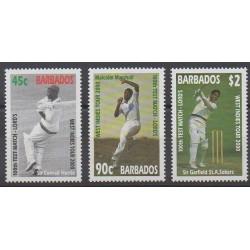 Barbados - 2000 - Nb 1032/1034 - Various sports