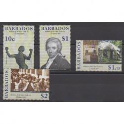 Barbade - 2007 - No 1176/1179 - Droits de l'Homme