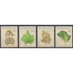Barbados - 2008 - Nb 1188/1191 - Flora