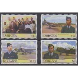 Barbados - 2008 - Nb 1192/1195 - Military history - Planes