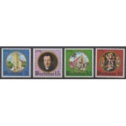 Barbados - 1975 - Nb 397/400