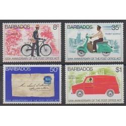 Barbados - 1976 - Nb 417/420 - Postal Service