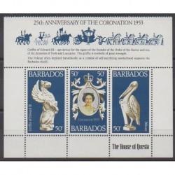 Barbados - 1978 - Nb 449/451 - Various Historics Themes
