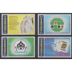 Barbade - 1978 - No 452/455