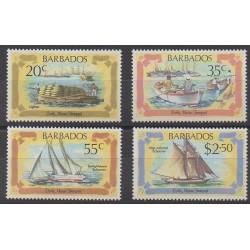 Barbade - 1982 - No 552/555 - Navigation
