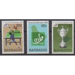 Barbade - 1983 - No 584/586 - Sports divers