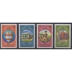 Barbados - 1982 - Nb 564/567 - Celebrities