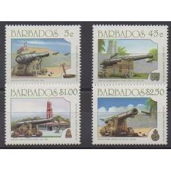 Barbados - 1993 - Nb 860/863 - Military history