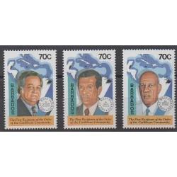 Barbade - 1994 - No 886/888 - Célébrités