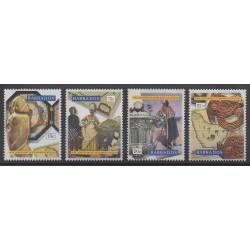 Barbade - 1993 - No 864/867 - Art
