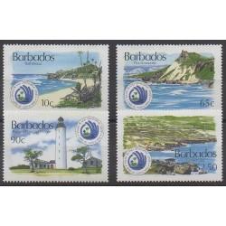 Barbade - 1994 - No 882/885 - Sites - Phares