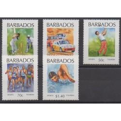 Barbados - 1994 - Nb 873/877 - Tourism