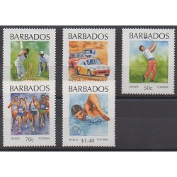 Barbade - 1994 - No 873/877 - Tourisme