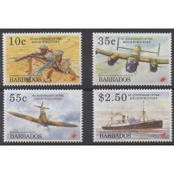 Barbade - 1995 - No 908/911 - Seconde Guerre Mondiale