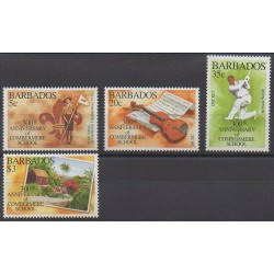 Barbade - 1995 - No 912/915