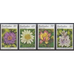 Barbados - 1995 - Nb 920/923 - Flowers
