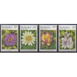Barbade - 1995 - No 920/923 - Fleurs
