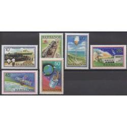 Barbados - 1979 - Nb 489/494 - Space