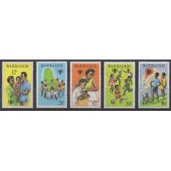 Barbade - 1979 - No 495/499 - Enfance