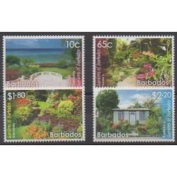 Barbade - 2014 - No 1286/1289 - Parcs et jardins