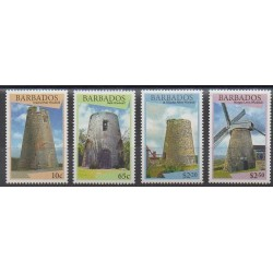 Barbados - 2015 - Nb 1290/1293 - Monuments