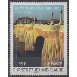 France - Poste - 2009 - 4369 - Bridges - Art