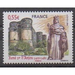 France - Poste - 2009 - Nb 4326 - Castles