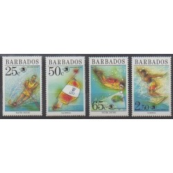 Barbade - 1989 - No 768/771 - Sports divers - Philatélie