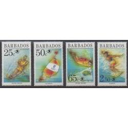 Barbade - 1989 - No 768/771 - Sports divers - Philatélie