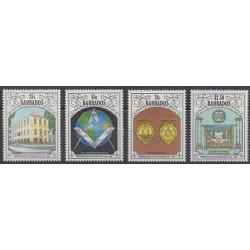 Barbade - 1991 - No 812/815