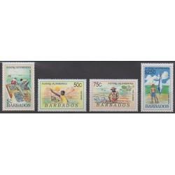 Barbade - 1991 - No 808/811 - Artisanat ou métiers