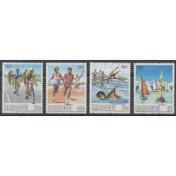 Barbade - 1988 - No 727/730 - Jeux Olympiques d'été
